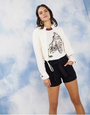 Shorts clochard color preto