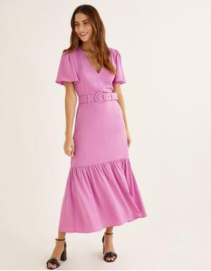 Vestido sarja maria