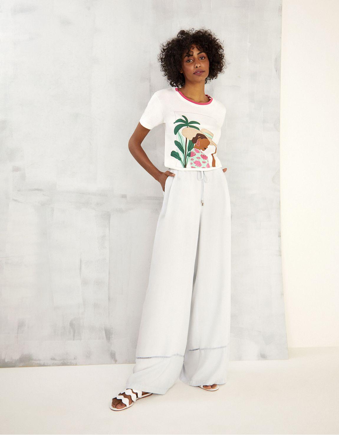 T-shirt cartaz mulher
