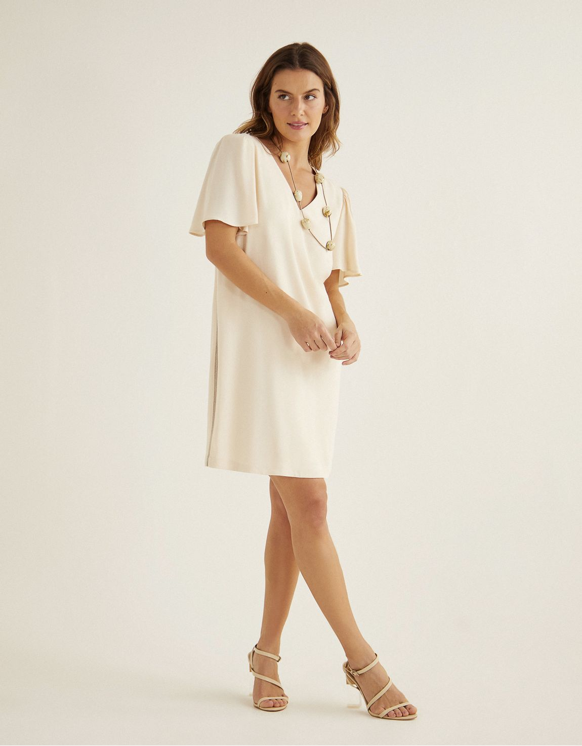 T-shirt dress lateral corrente