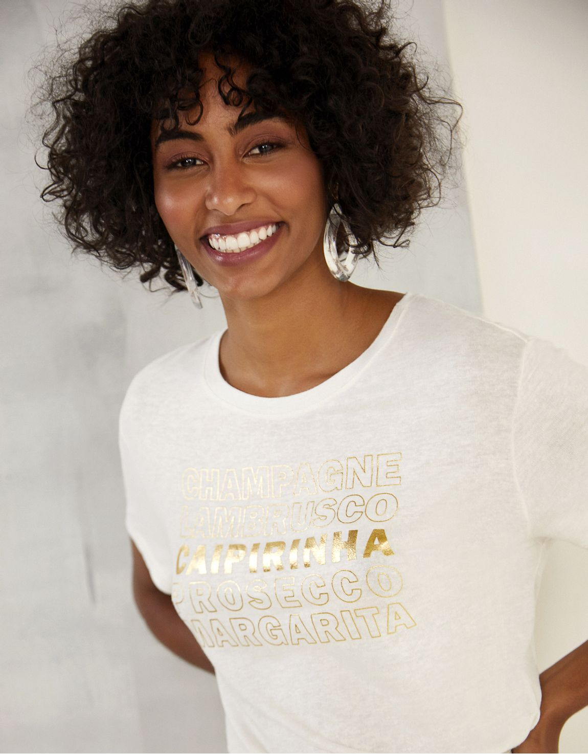 T-shirt caipirinha
