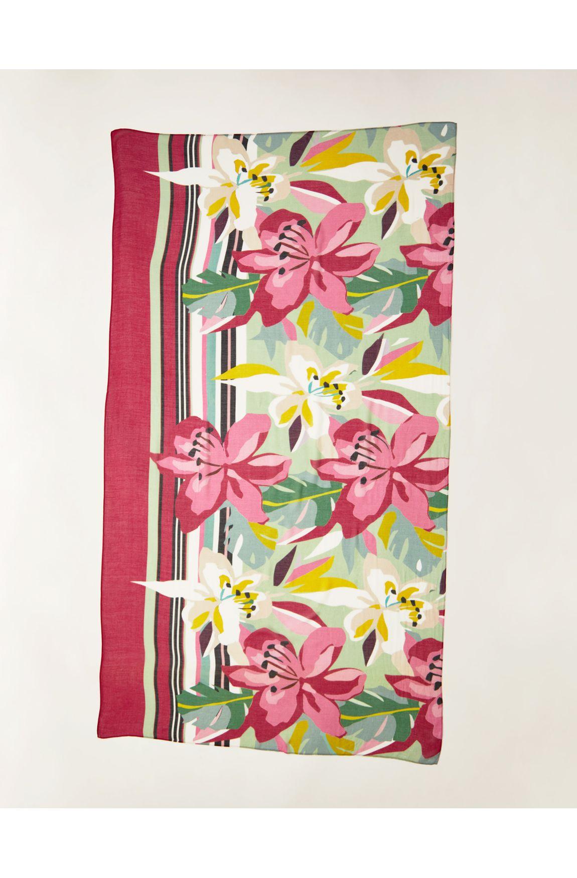 Kit canga floral