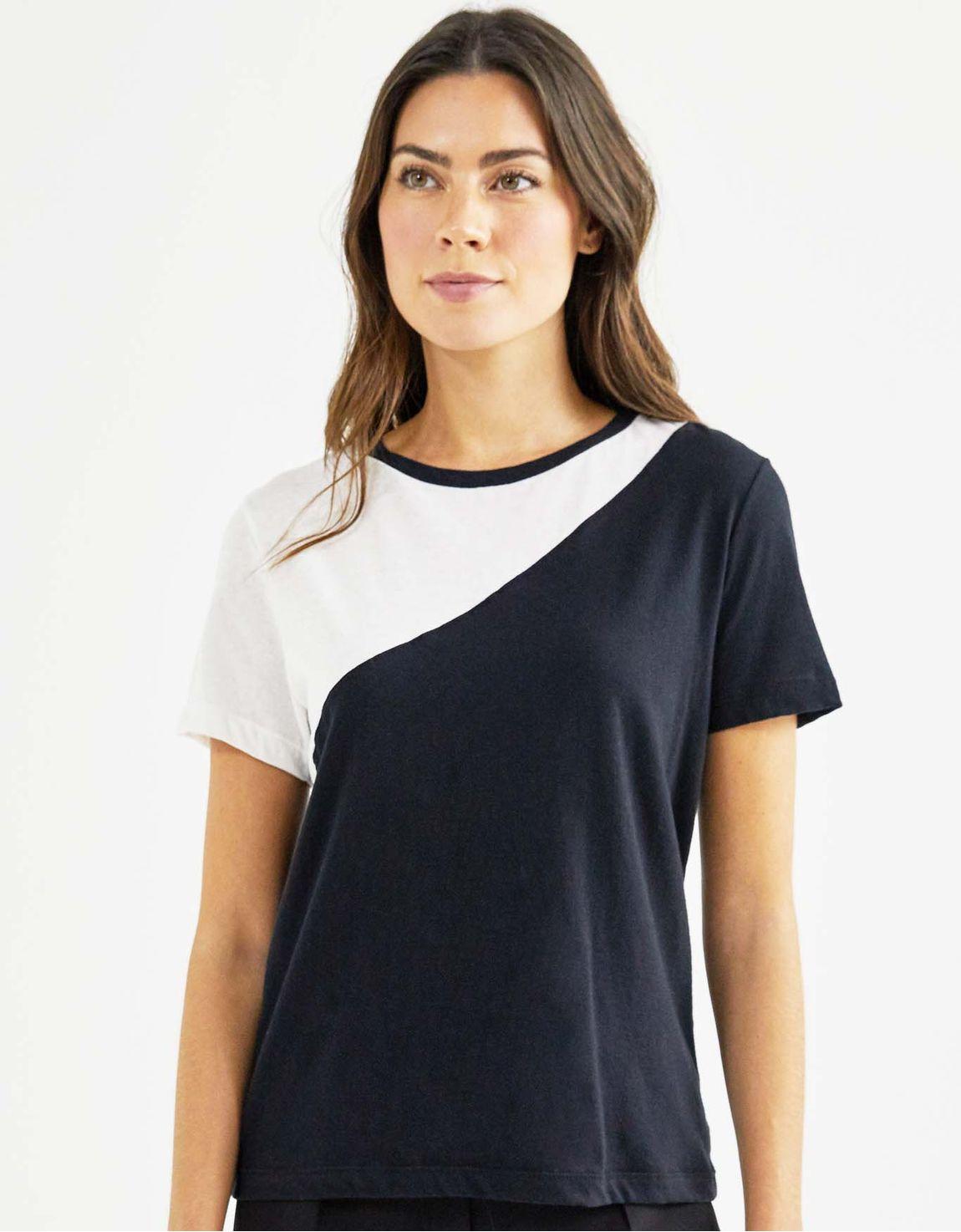 T-shirt blocada