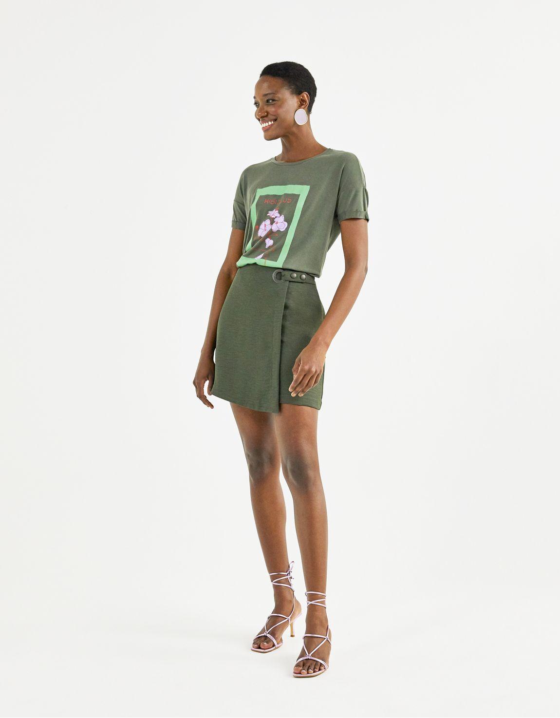 T-shirt hibisco