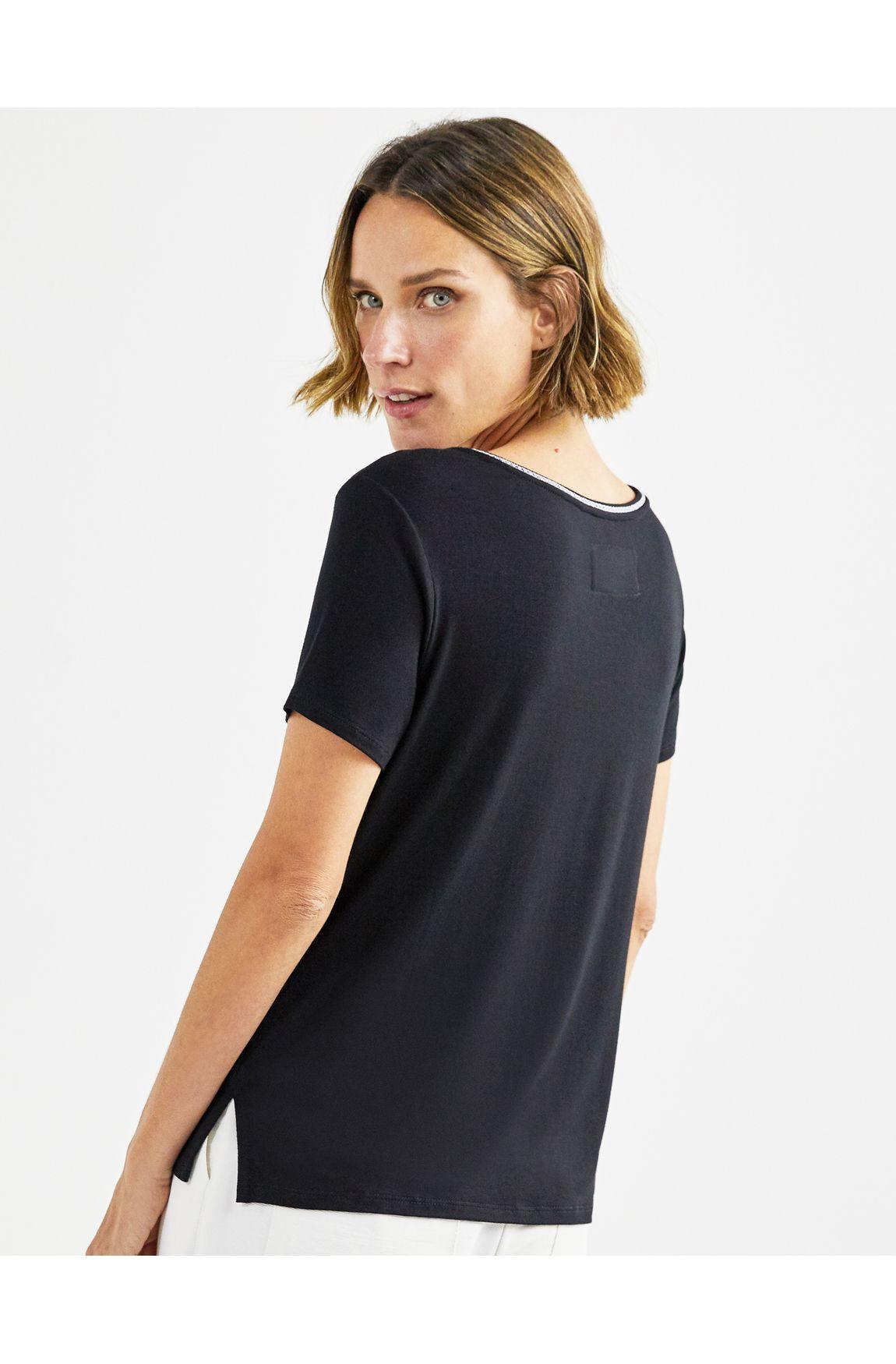 T-shirt cadarco gola
