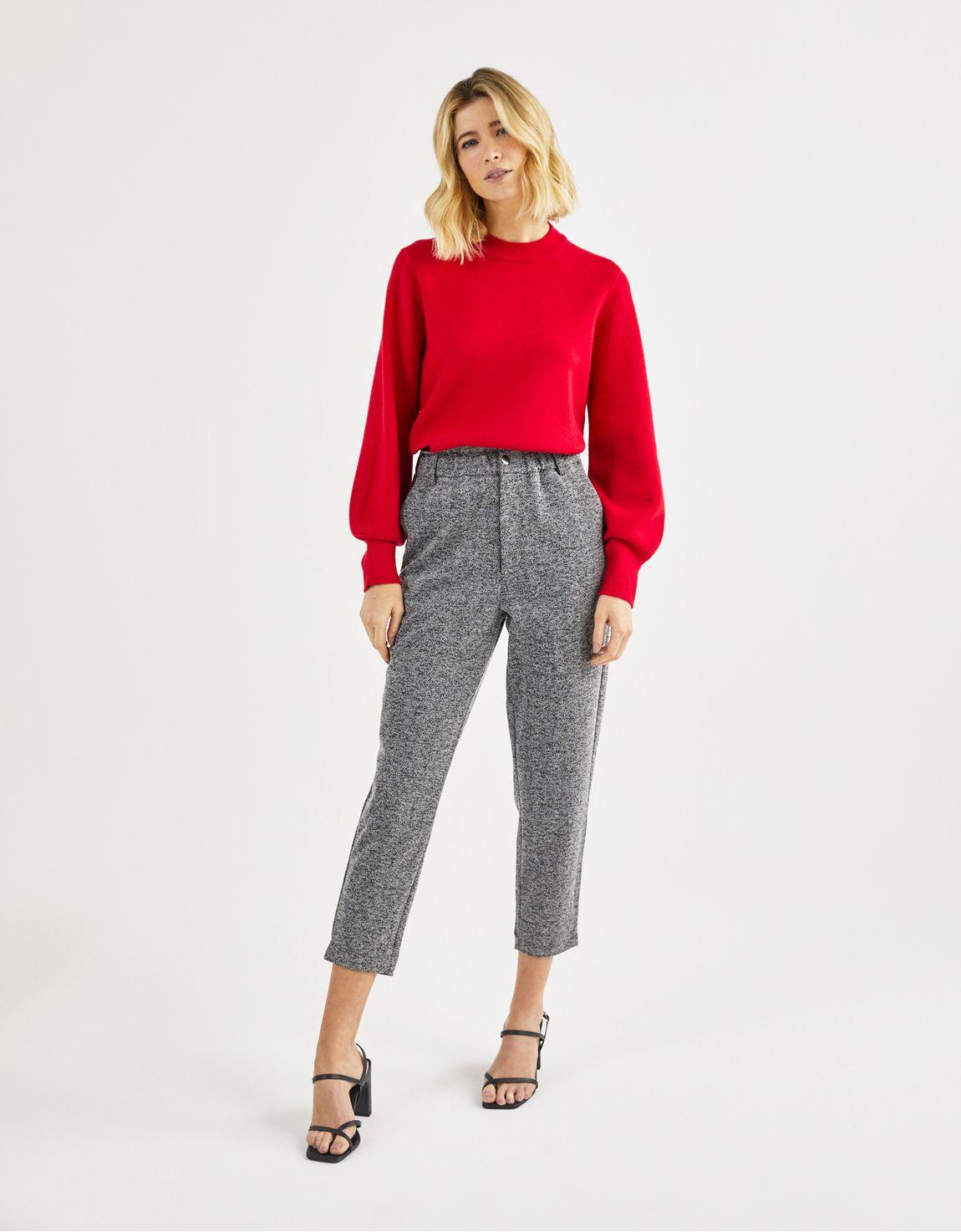 Blusa tricot ampla