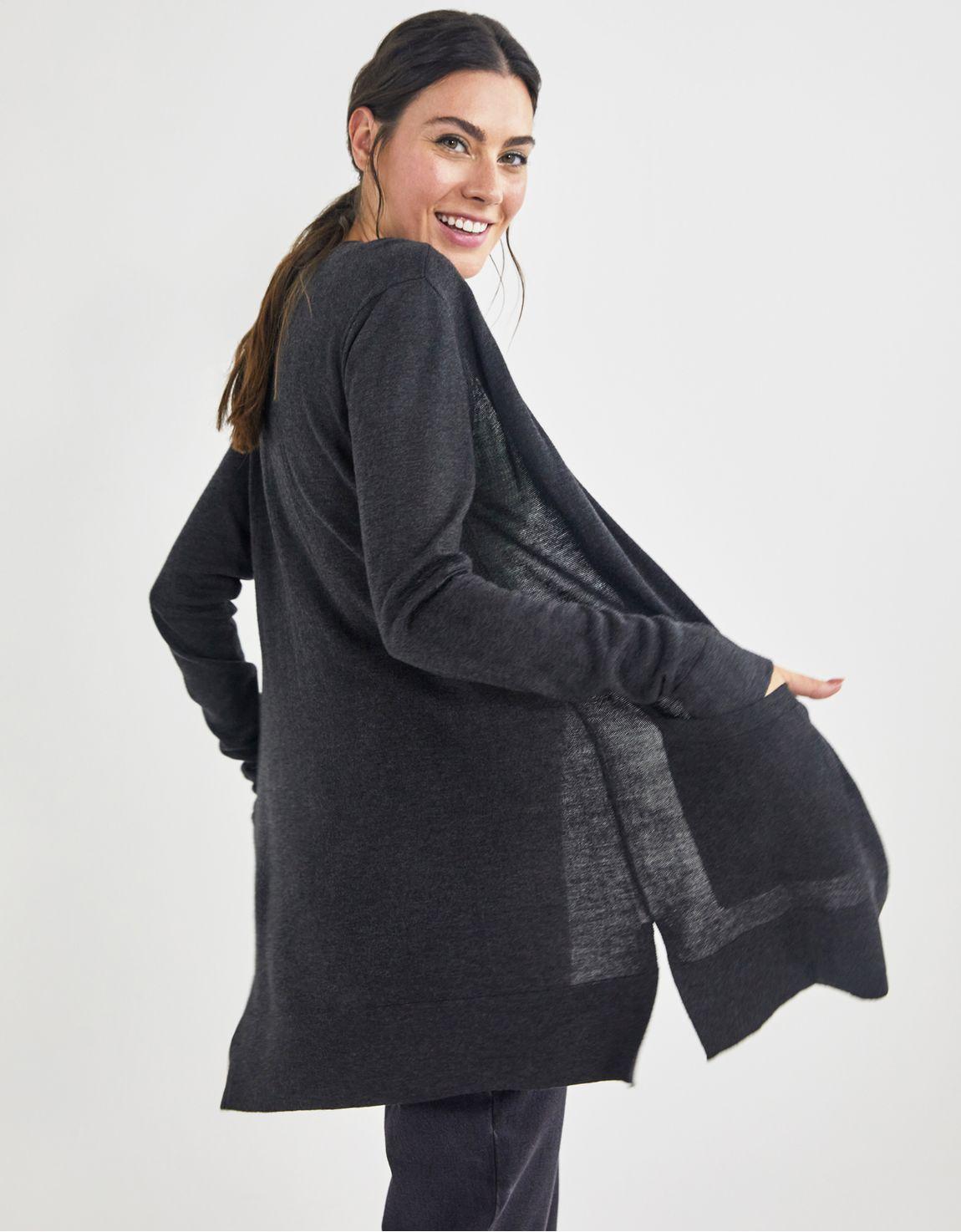 Cardigan tricot basico