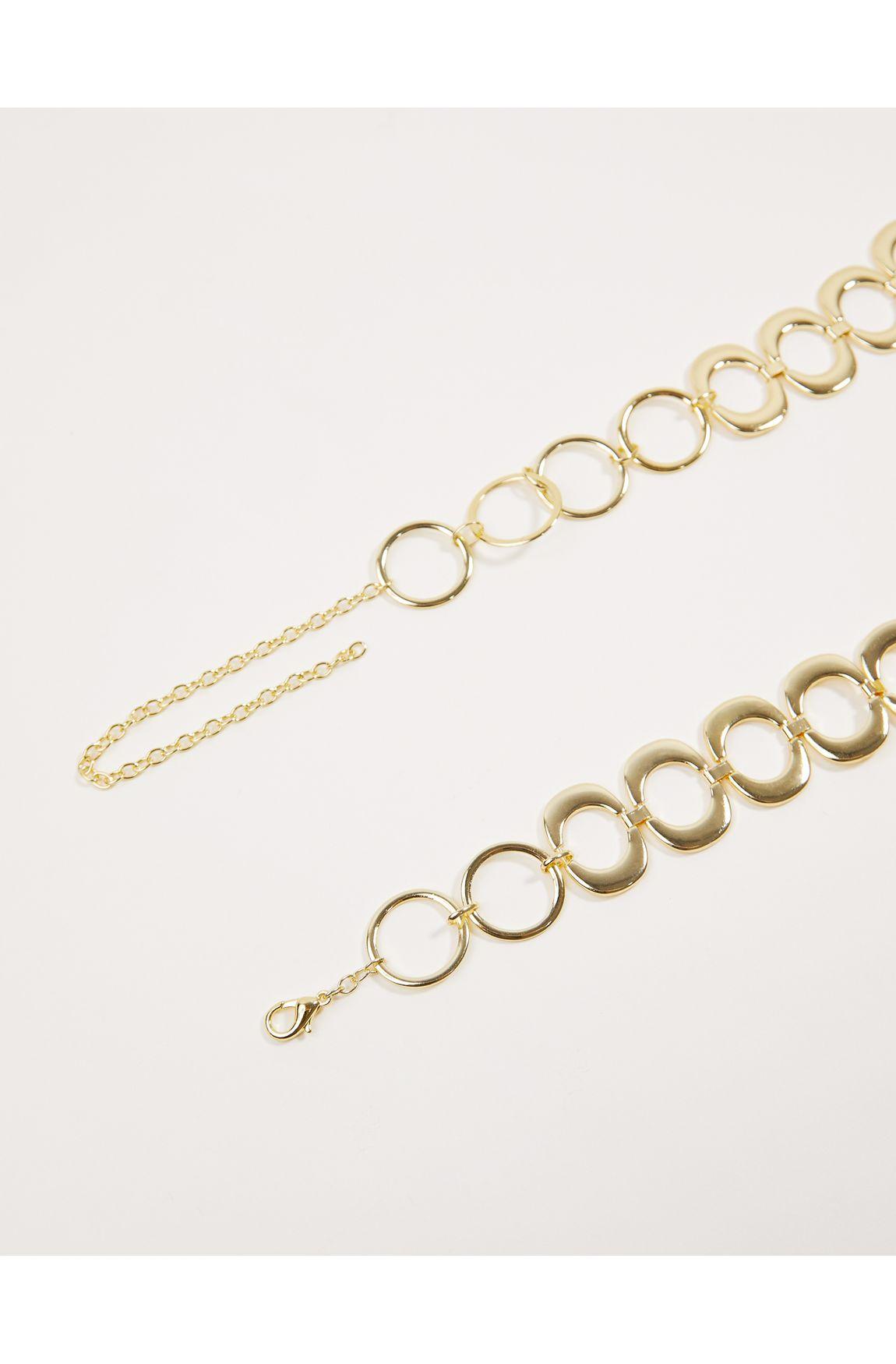 Cinto bijoux elos dourados