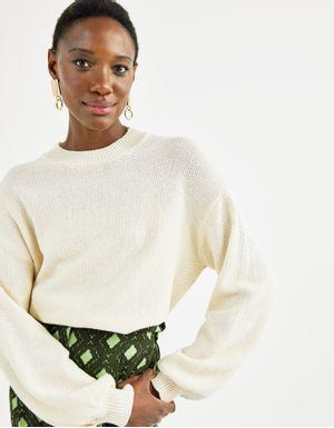 Blusa tricot textura color