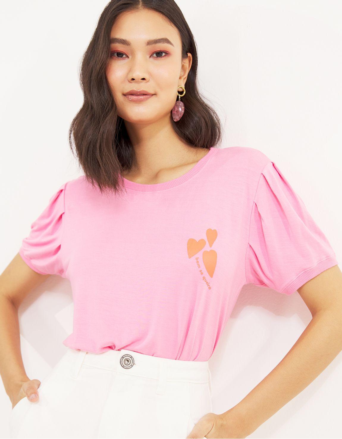 T-shirt bem se queira