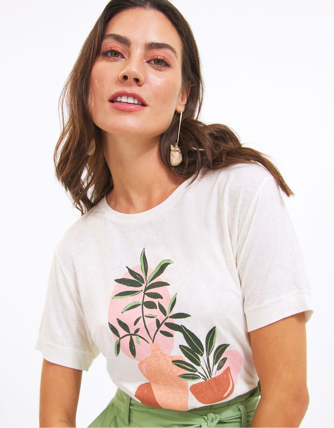 T-shirt vasos