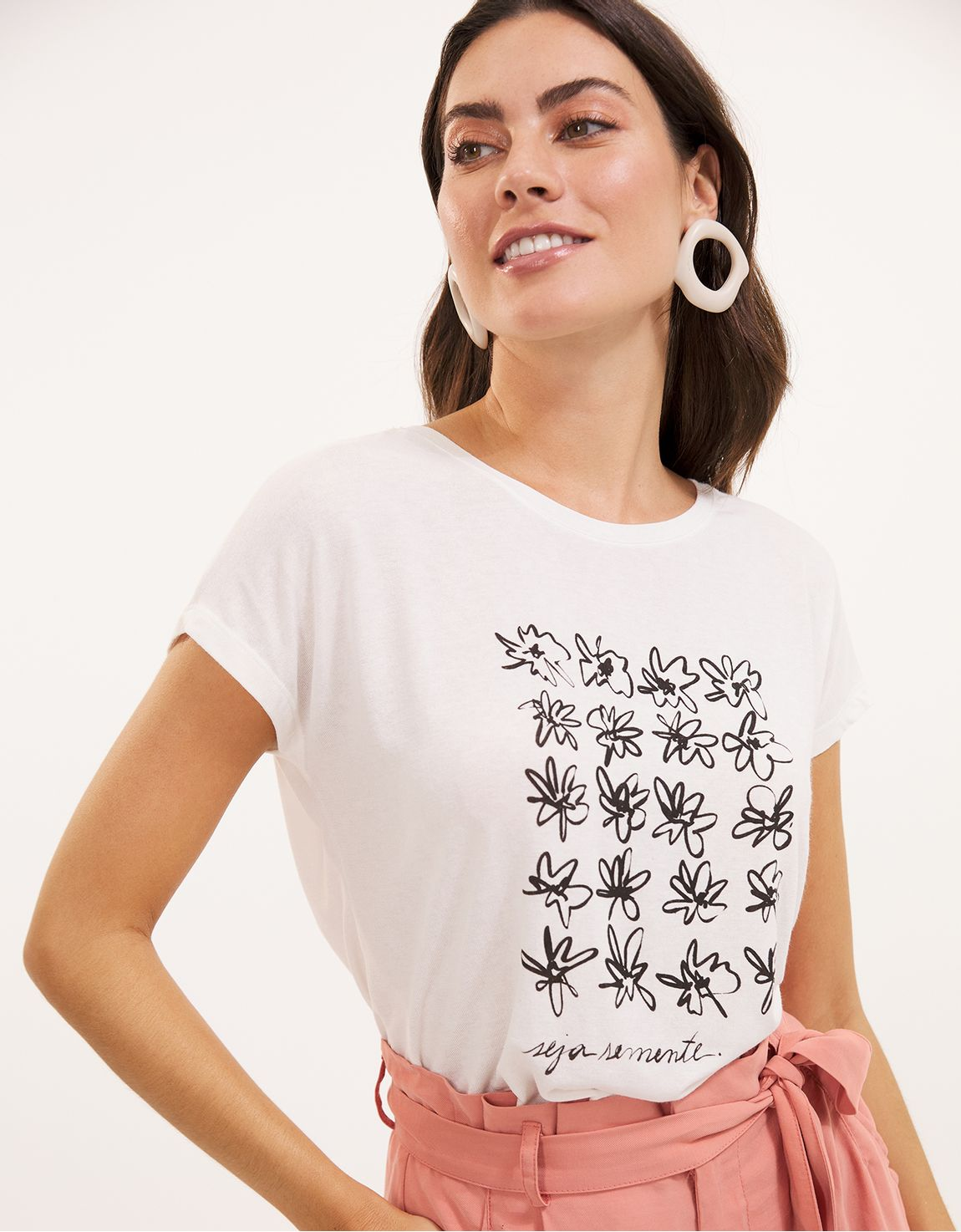 T-shirt seja semente
